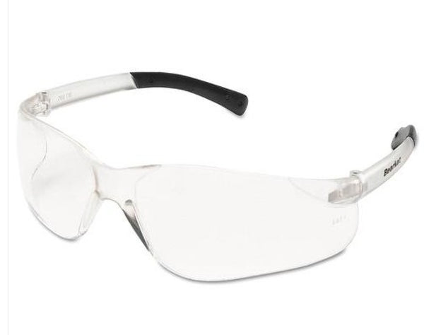 MCR Safety Crews BearKat® Safety Glasses - Scratch-Resistant - Clear