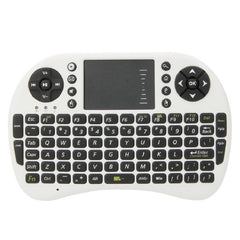 MINI Keyboard - 2.4G Wireless Keyboard Mouse Combo -  QWERTY - English - White