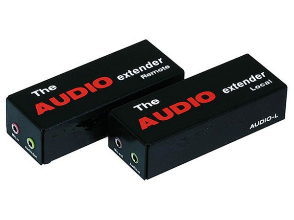 Audio Extender over CAT5e cable up to 300 meter - Black, Audio/Video Extenders, Various - TiGuyCo Plus