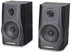Manhattan 2900BT Hi-Fi Speaker System Bluetooth - 2 Speakers - 161688