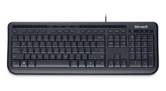 Microsoft 600 Keyboard - English - USB - Black - ANB00001