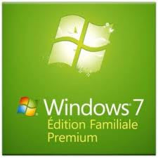 Microsoft Windows 7 SP1 Home Premium 64-Bit OS - OEM DVD, French