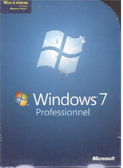 Microsoft Windows 7 Professionel 32/64-bit - French - Upgrade designed for Windows Vista - DVD Included - X15-29510