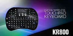 !!! A New Addition !!! MyGica KR-800 Wireless Full QWERTY Keyboard and Touch Pad for Air Mouse Function and Backlight