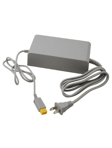 Nintendo Wii U Game Console Replacement Power Supply Adapter 100-240V - Grey