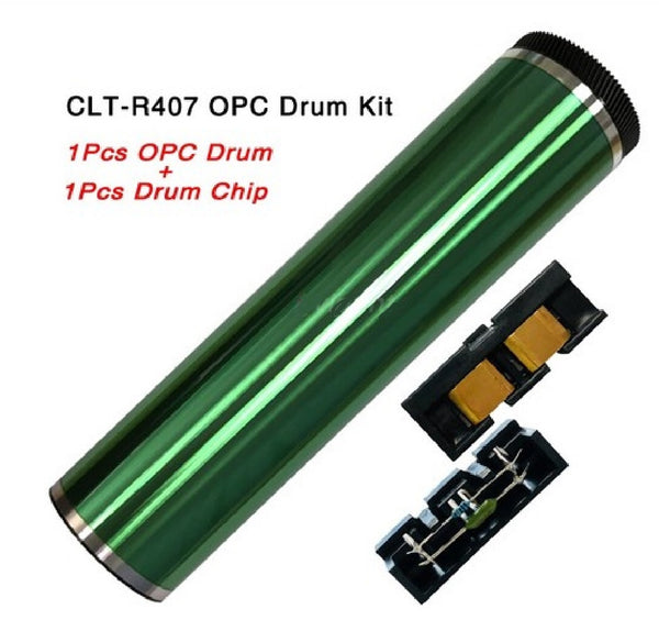 OPC Drum Chip Kit For Samsung CLT-R407 -  OPC Drum + Drum Chip