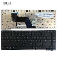 Original New Keyboard for HP Elitebook 8440P 8440W Laptops - US Keyboard with Pointer - Black - Bulk - MP-09A63US6698