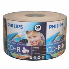 Philips CD-R Inkjet Printable - Shrink Wrap - 50pcs