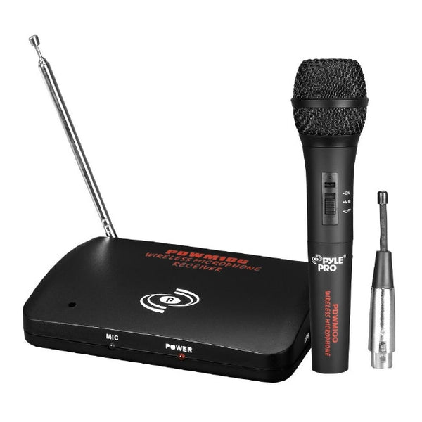 Pyle-Pro Dual Function Wireless-Wired Microphone System - PDWM100, Microphones, Pyle-Pro - TiGuyCo Plus