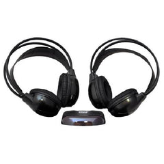 Pyle Dual Wireless IR Mobile Video Stereo Headphones with Transmitter (Pair) - PLVWH6