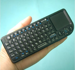 Rii Bluetooth Mini Wireless Backlit Keyboard with Touchpad