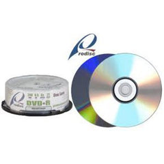 Rodisc Double Layer DVD+Rs - 8.5GB (240min.) - 8X - 25pk