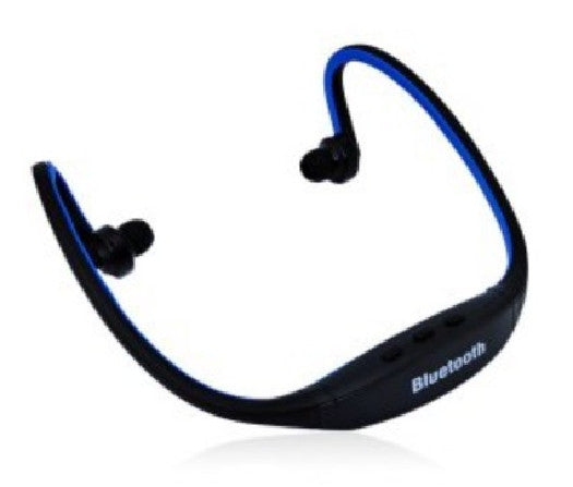 S9 Bluetooth v3.0 Wireless Sports Headphone for Smartphone Tablet PC - Blue, Headsets, Various - TiGuyCo Plus