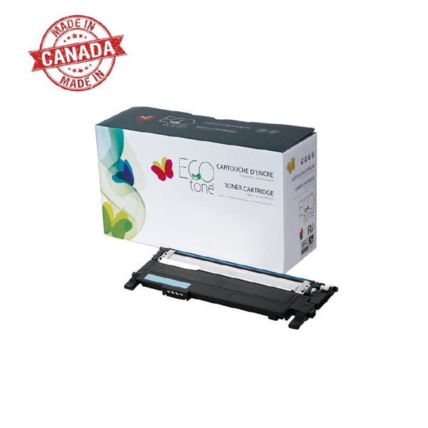 Compatible with Samsung CLT-C407S Cyan Compatible ECO tone Toner Cartridge