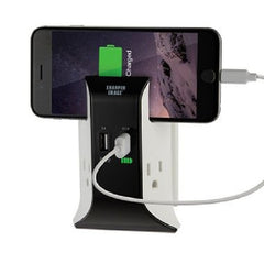 !!! A New Addition !!! Sharper Image Visual Charge USB Wall Plate Charger - TS1802