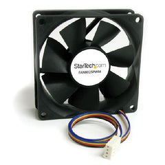 StarTech 80x25mm Computer Case Fan with PWM – Pulse Width Modulation Connector - FAN8025PWM