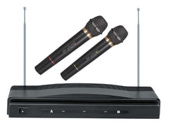 Supersonic Professional Wireless Dual Microphone System