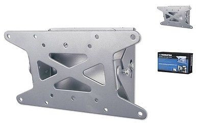 Manhattan Flat-Panel TV Tilting WallMount - 23kgs (50lbs), TV Mounts & Brackets, MANHATTAN - TiGuyCo Plus