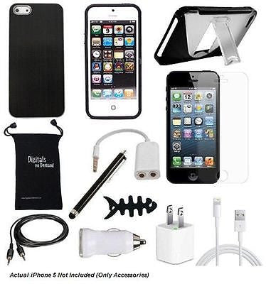 iPhone 5 - 12-item Accessory Bundle - Great Value!, Accessory Bundles, n/a - TiGuyCo Plus