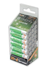 TECHly AAA 1.5V Super Alkaline Batteries, 24 Pack