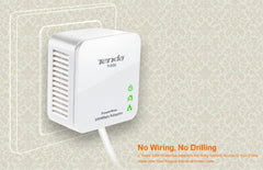 Tenda P200 200Mbps Powerline Mini Adapter Kit