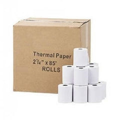 "Thermal Paper Rolls, 2-1/4"" x 85' - Per Roll - 10+ Rolls or 50+ Rolls - White"
