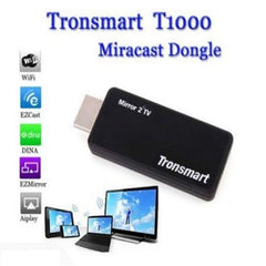 Tronsmart T1000 Mirror2TV Wireless Display HDMI Dongle - Full HD 1080p - Support Ezmirror, Miracast, DLNA, EZCAST and AirPlay - Black