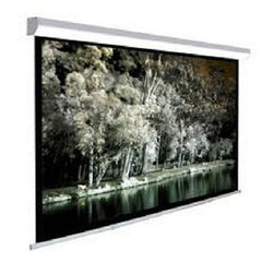 "TC 108"" Manual Pull Down Projector Screen - 16:9 Wide Screen - Matte White"