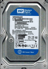 Western Digital 500GB Blue Hard Drive - SATA - 7200RPM - USED - TESTED 100% - WD5000AAKX
