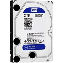 "Western Digital Blue 2TB - 3.5"" - SATA-600 - 5400RPM - 64MB Cache - Internal Hard Drive - WD20EZRZ"