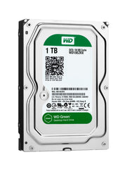 Western Digital Green 1TB - 3.5in - SATA 6 Desktop Hard Drives - WD10EZRX