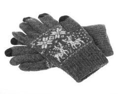 !!! A New Addition !!! Winter Touch Gloves for Capacitive Touchscreen Devices - Light Grey, Red or Dark Grey