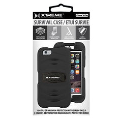 Xtreme - Survival Case for iPhone 6 Plus - Black - 54031