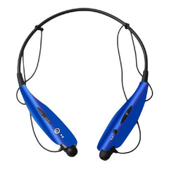 Xtreme XFit Sport Wireless Bluetooth Magnetic Earbuds with Mic and Vibration Alert - Blue
