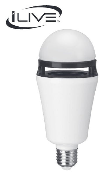 iLIVE Wireless Speaker and LED Light Bulb - ILED75W, Speakers, iLIVE - TiGuyCo Plus