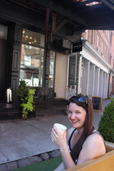 Hannah at The Laughing Man, New York