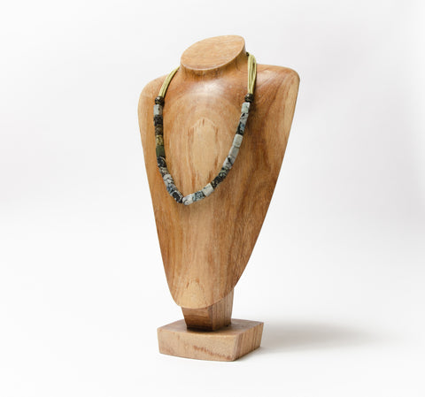 Jnoubi Stone Bead Necklace