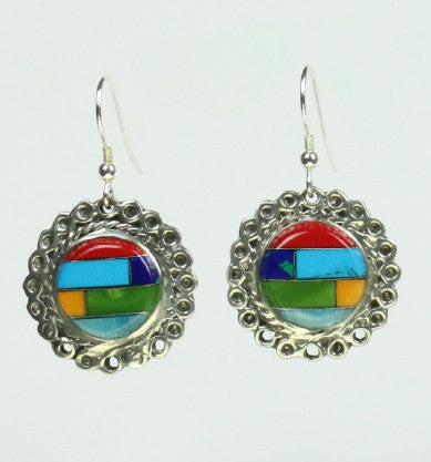 Mexican Earrings Round