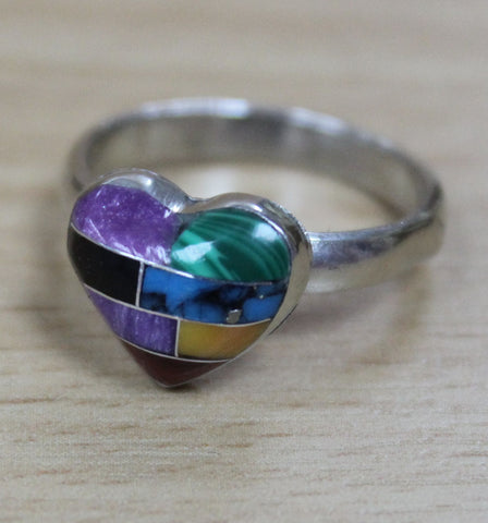 Mosaic Heart Ring
