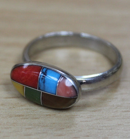 Mexican Ring - Mosaic Oval