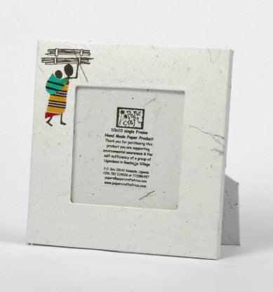 Paper Craft 10 x 10 cm Single Photo Frame