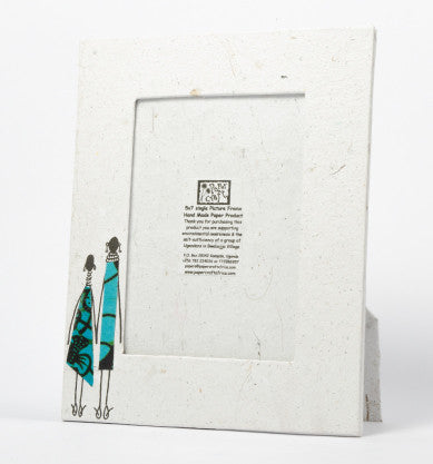 Paper Craft 5 x 7 inches Single Photo Frame