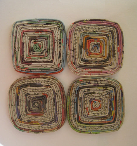 Coasters - Set of 4