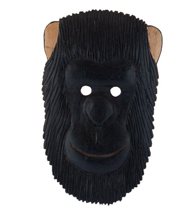Wooden Animal Mask (Gorilla)