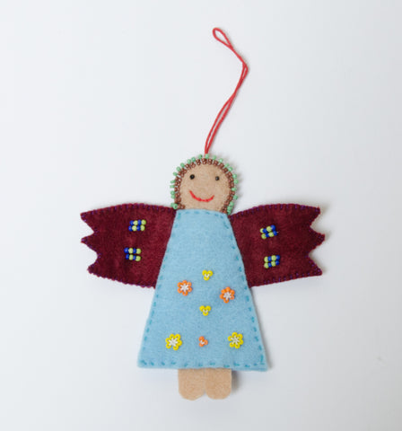 Felt/Bead Angel Decorations