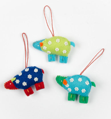 Felt Farm Animal Decorations