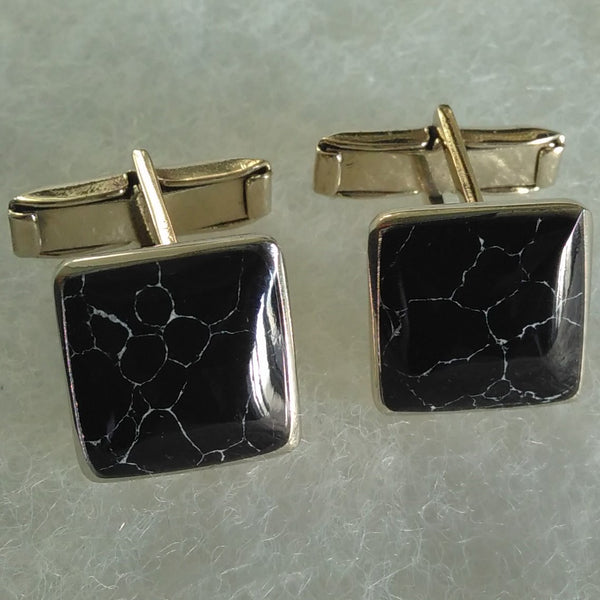 Cuff Links Square