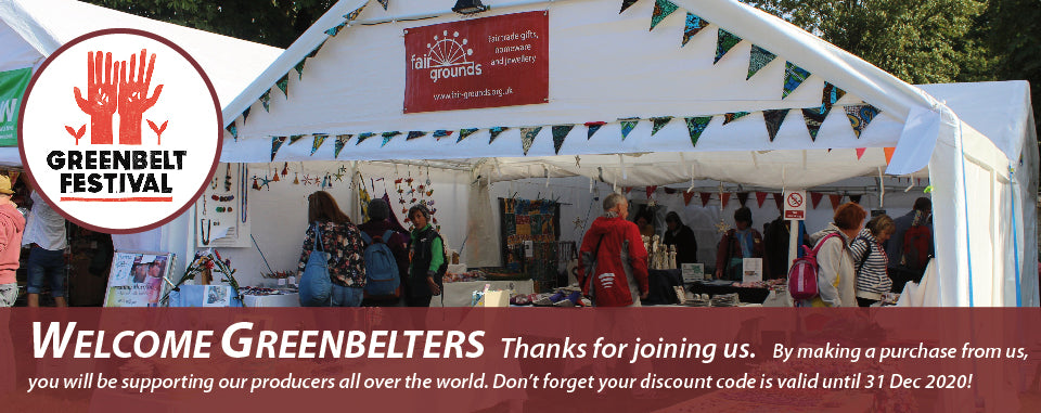Welcome to our customers from Greenbelt Festival