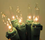 10-12' Tree Lighting Kit: Incandescent: 1950 Total Lights CLEAR: Item #K045C