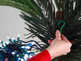 Palm Tree Lighting Kit, Up to 10' Palm, 300 Incandescent Lights with Twinkle Tips